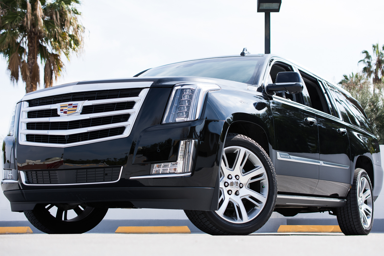 Cadillac Escalade Esv Rental In Los Angeles 2015 Gmc Premium
